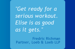 Get ready for a serious workout. Elise is as good as it gets.